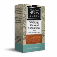 Infinity Foods Organic Cinnamon Ground 30g